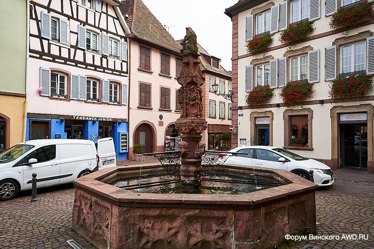 По винным дорогам Эльзаса на авто. Страсбург и Кольмар перед Рождеством
