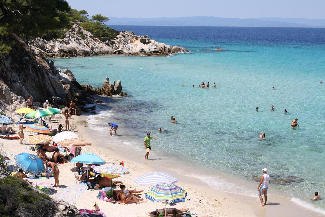 фото пляжей халкидики