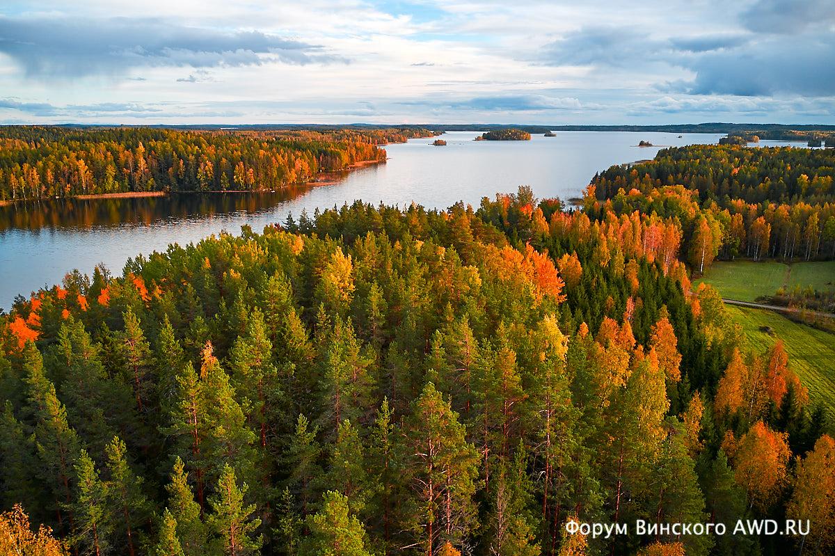 Финляндия в начале октября