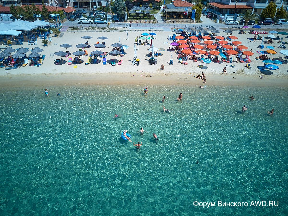 Пляжи ситонии отзывы