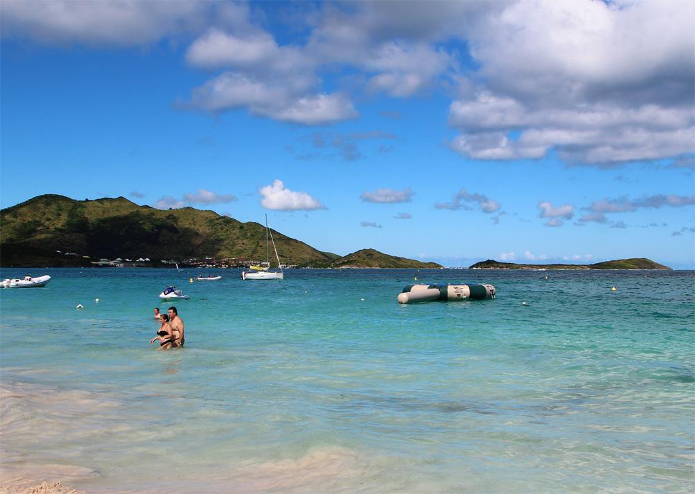 пляжи острова Сен-Мартен