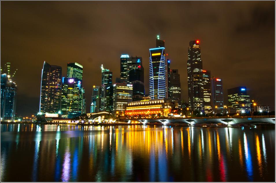 красивые фото ночных городов