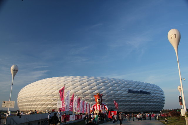 2011. Мюнхен. Allianz Arena. Бавария - Байер