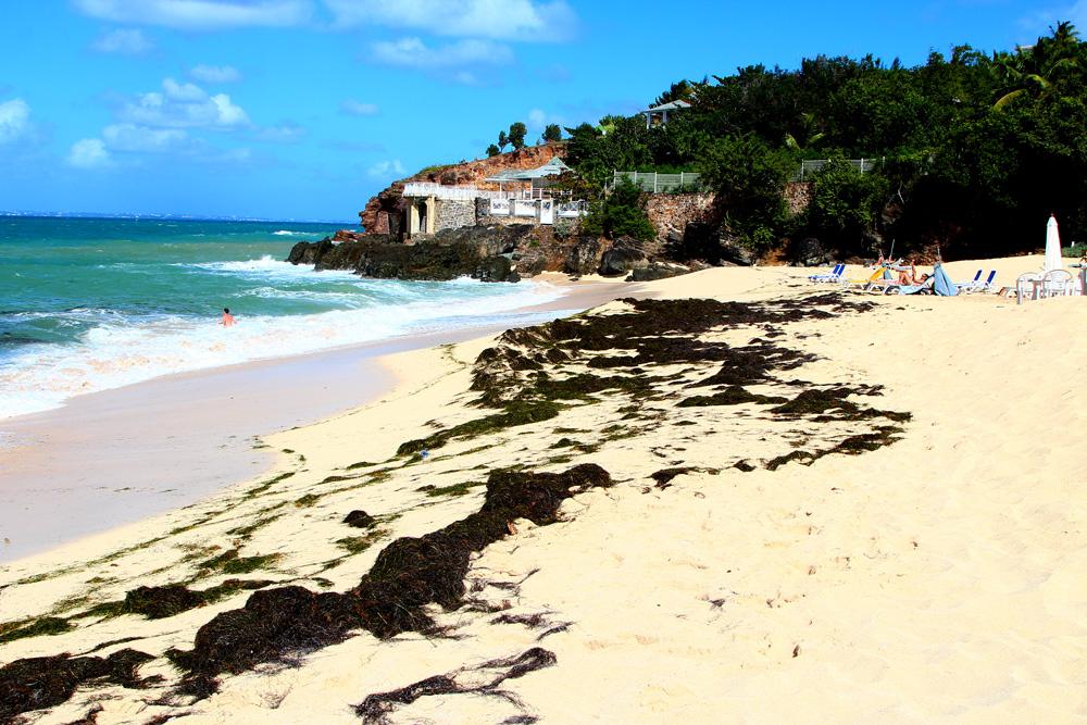 пляж остров Сен-Мартен