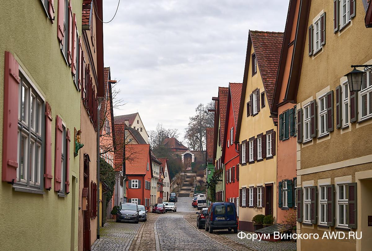 Два города на Романтической дороге Германии