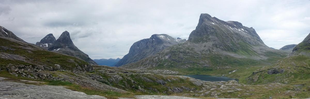 Безбашенный «чайнико-хайкинг»: Sunnmøre Alps, Åndalsnes и ещё кое-где. Август 2017
