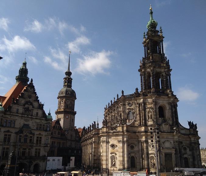 Дрезден одним днем из Праги (апрель 2019) + фото