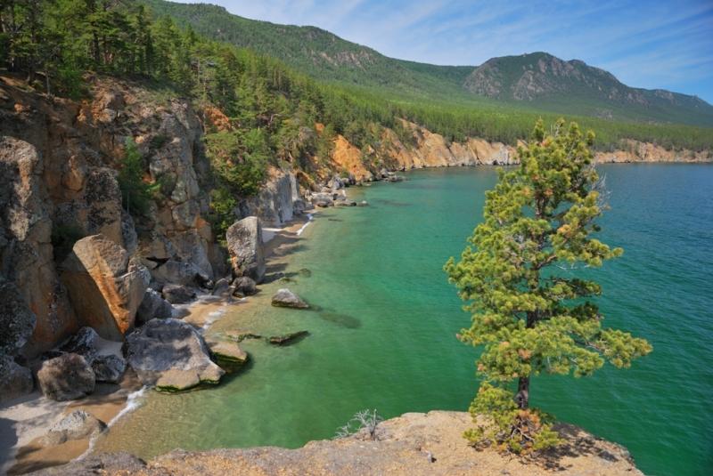 фотографии берегов и мысов байкала высоких