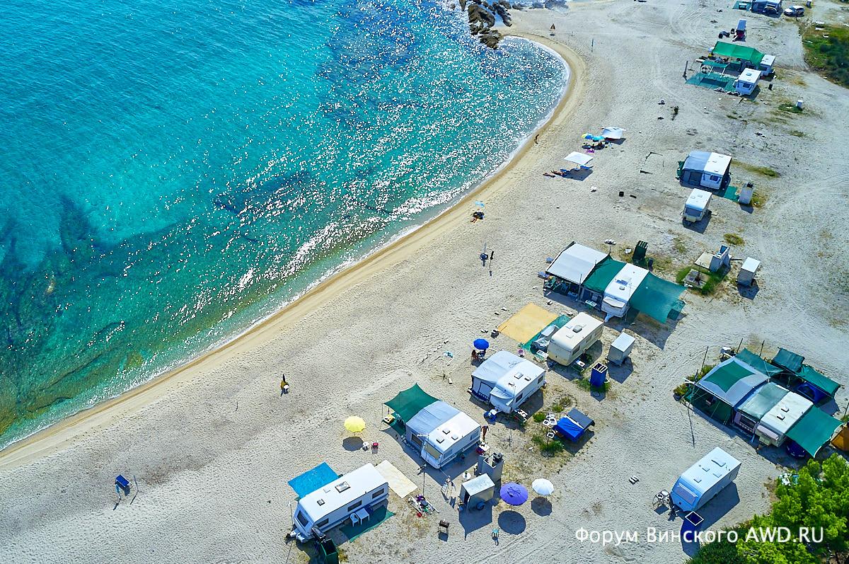 Оранж бич (Orange beach) Ситония Халкидики 2018
