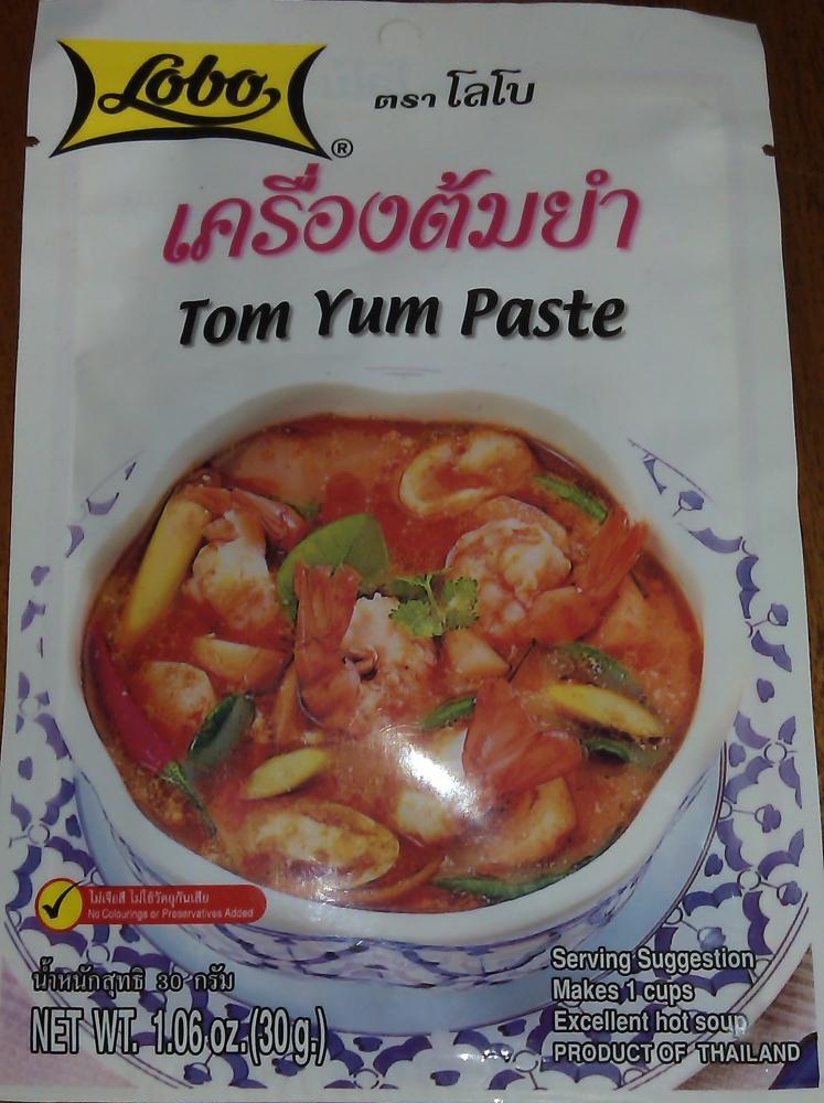Том ям из пасты рецепт