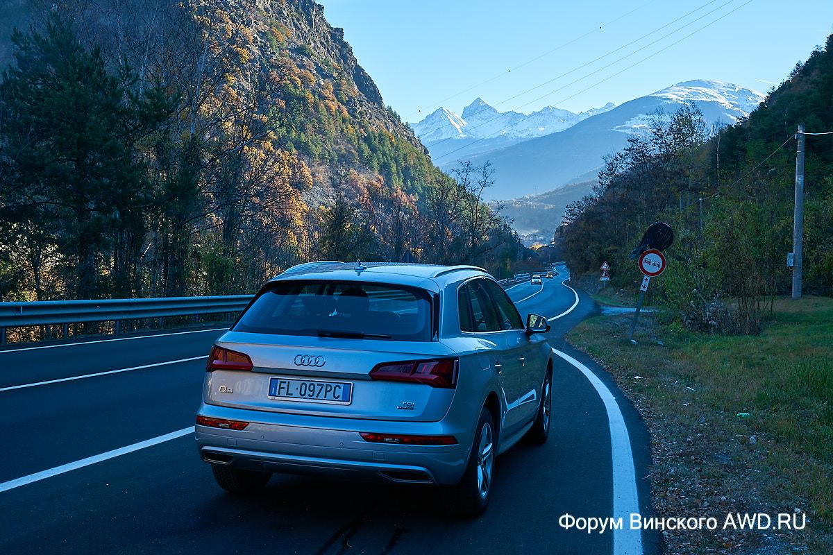 Долина Валле-д'Аоста очень поверхностно, за один день