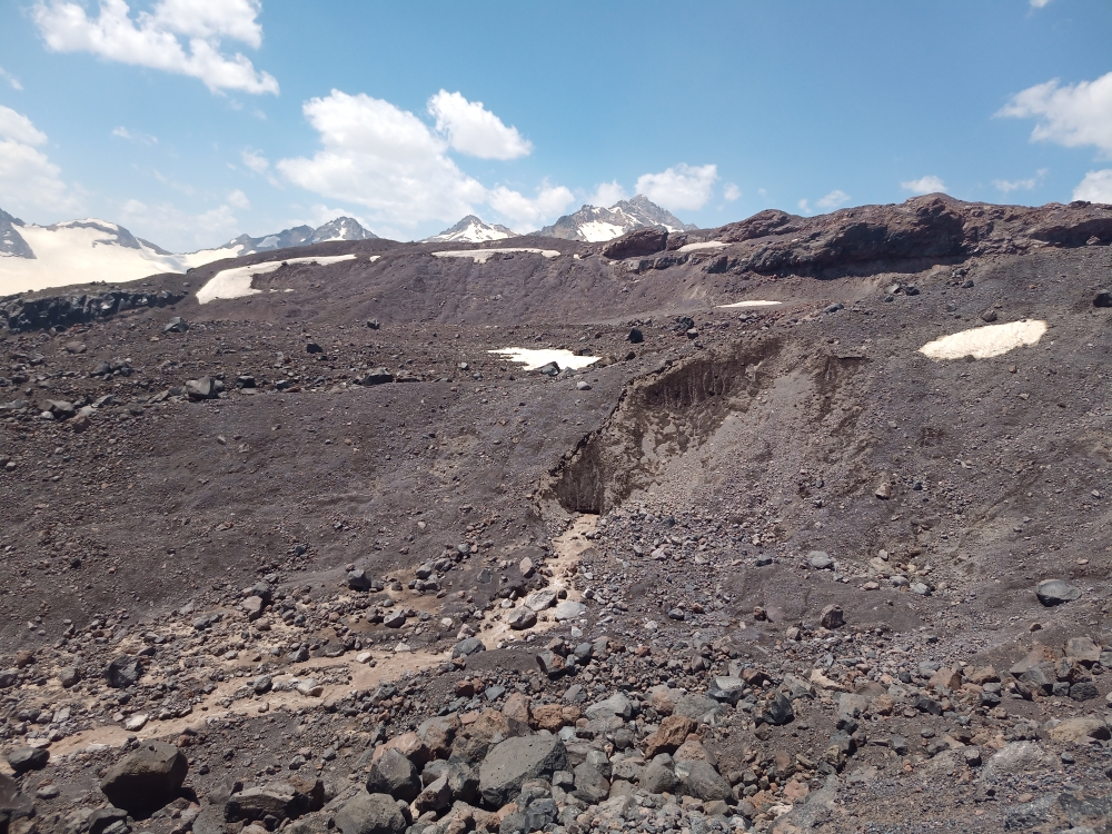Эльбрус с юга, июль 2021