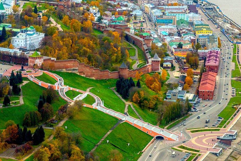 Мы едем в Нижний Новгород, апрель 2018