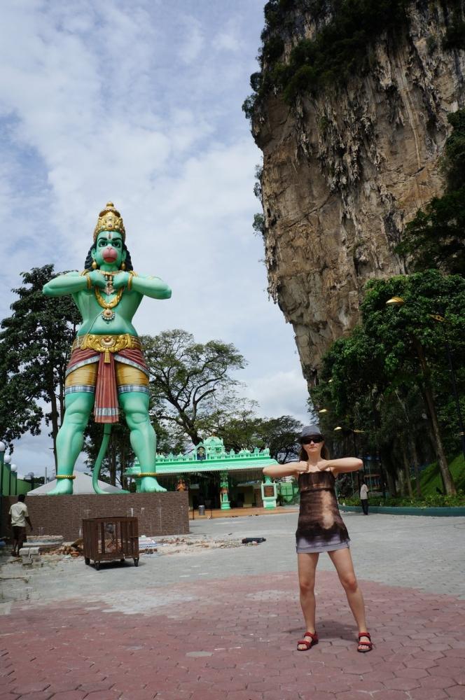 Хануман, Batu Caves