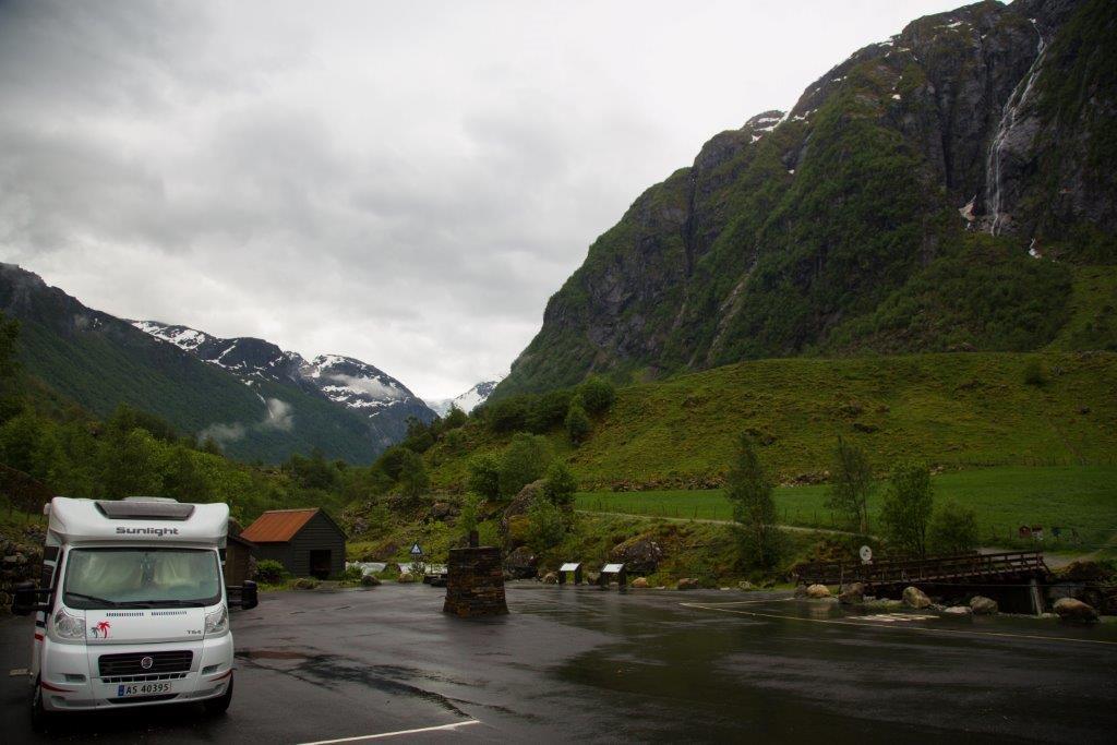 Норвегия в конце мая 2014 в доме на колёсах
