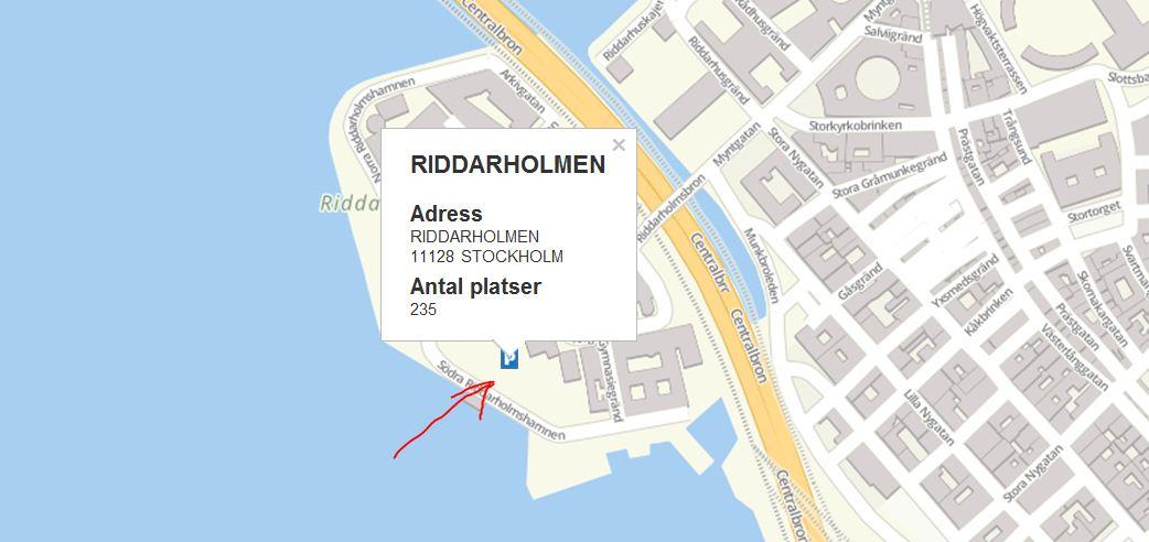 На своем авто в Стокгольме - где парковаться на день/ночь