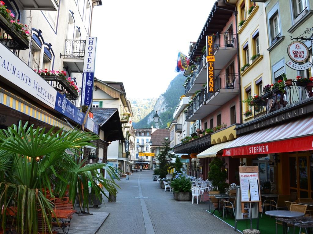 Обои Пейзаж, причалы, лодки, ticino, швейцария, дома, ascona, набережная. Города foto 16