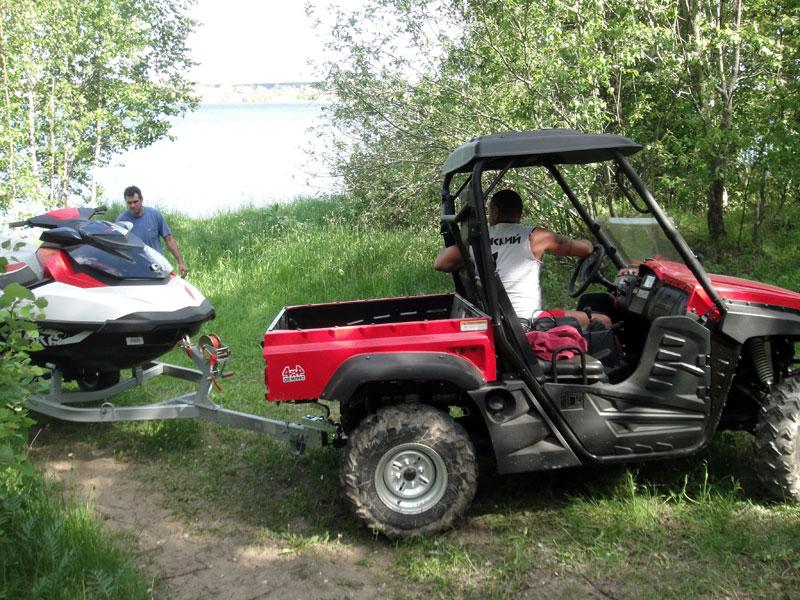 Гидроцикл Sea Doo GTX 155 и квадроцикл Tundra700. Эксплуатация