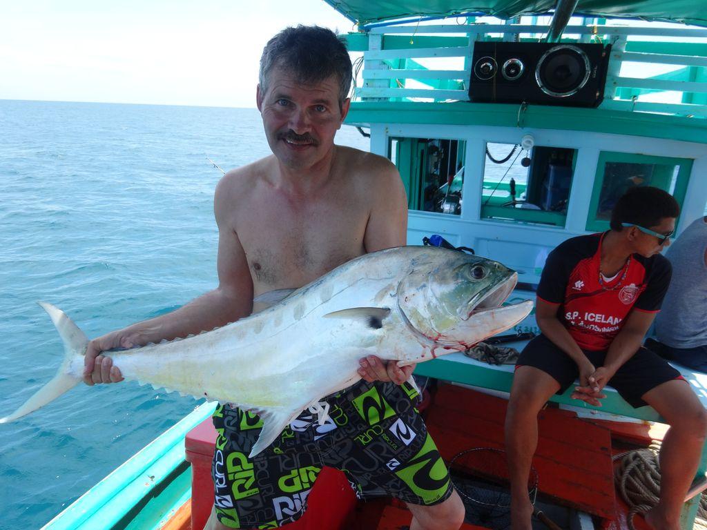 самостоятельная рыбалка в таиланде