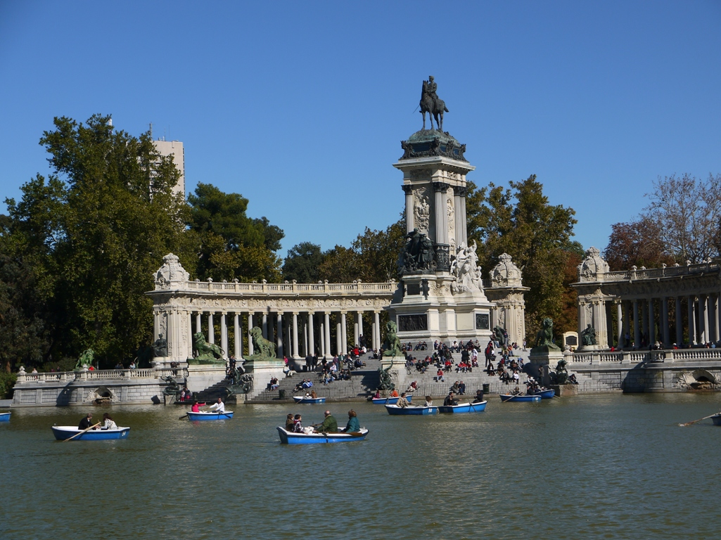 Как я провел этой осенью. Неделя в Мадриде