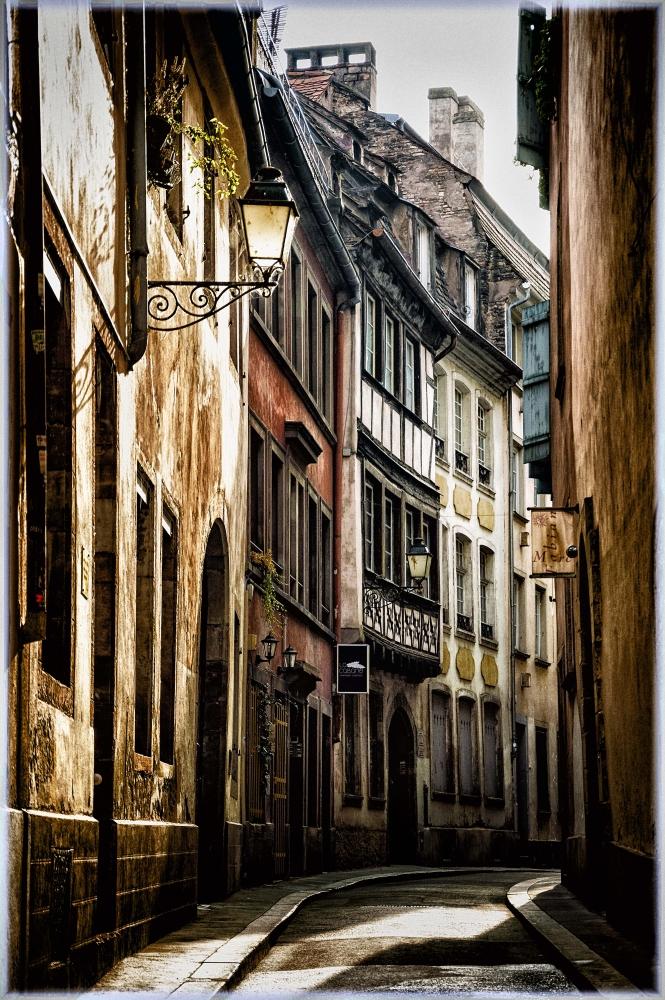 Страсбург в осенних красках