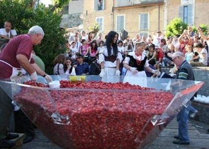 неделя «sagra» в Италии