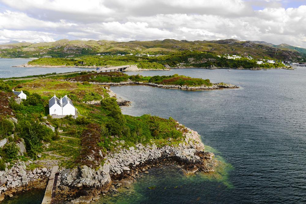 Замки Шотландии, острова Малл (Mull) и Скай (Skye) на автомобиле