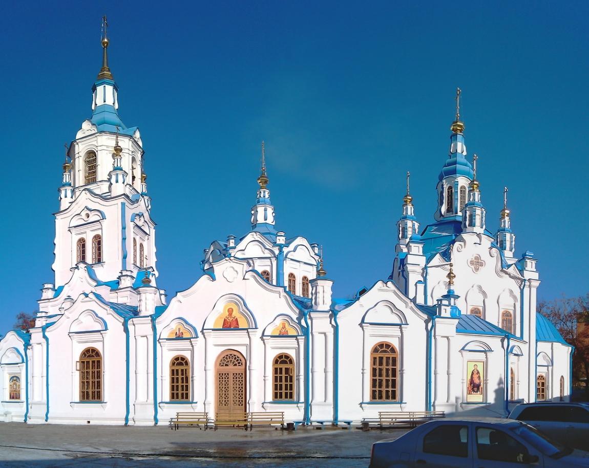 Достопримечательности Тюмени  первого русского города Сибири