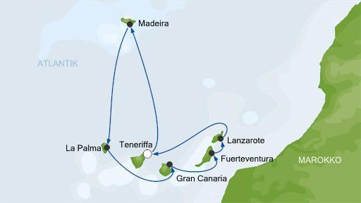 Релаксный кайф в круизе без комплексов: AIDAsol, апрель 2013, Канары + Мадейра