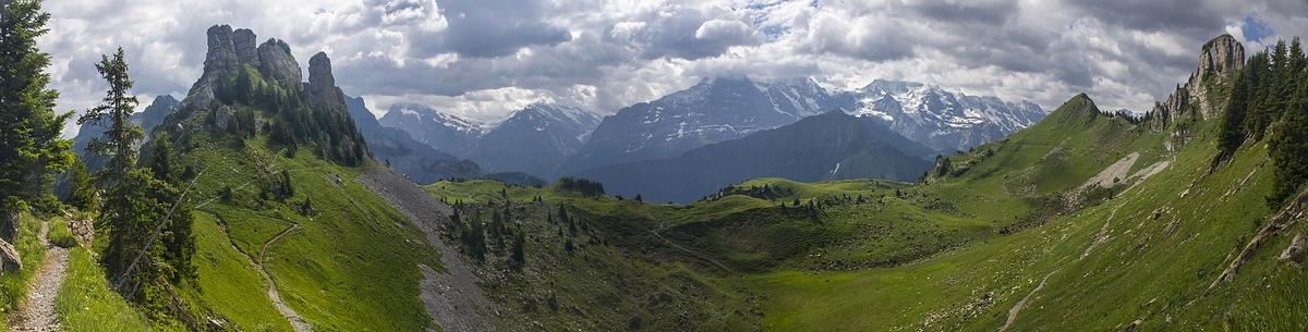 Schynige Platte и First-Faulhorn