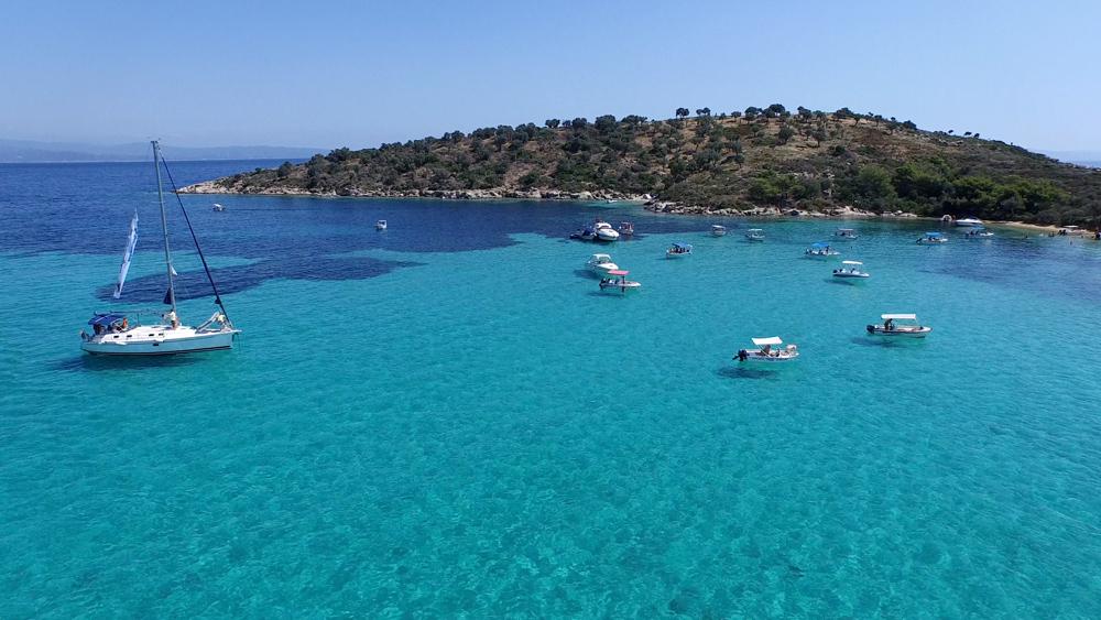 Отдых на море в Греции: Ситония (Халкидики) и остров Тасос летом и осенью