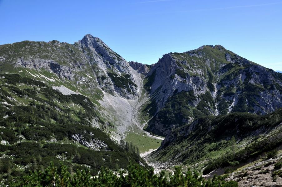 Восхождение на Триглав одним днём с юга. Словения.